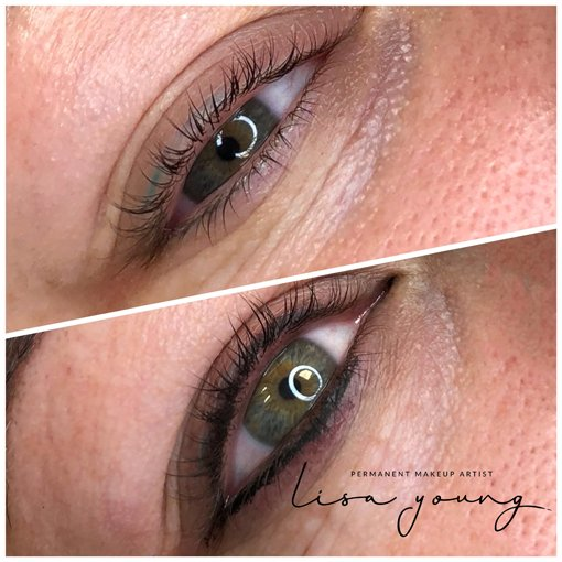 Permanent Eye Makeup before and after images case study 3